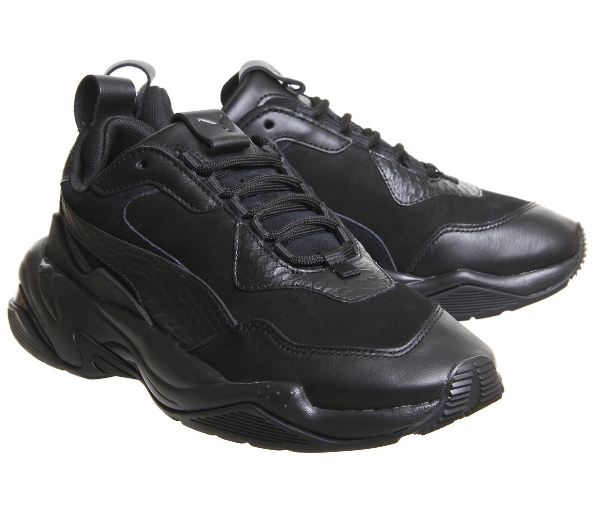 12a7147879ca7f Puma-Thunder-desert-Baskets-Puma-Noir-Baskets-Chaussures miniature