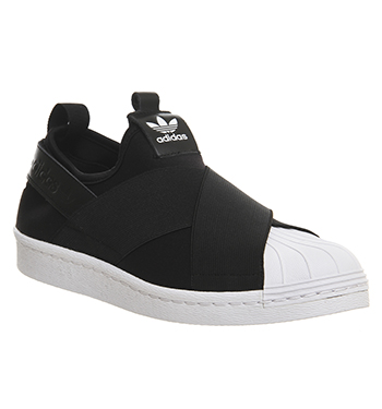 Mens-Adidas-Superstar-Slip-On-CORE-BLACK-WHITE-