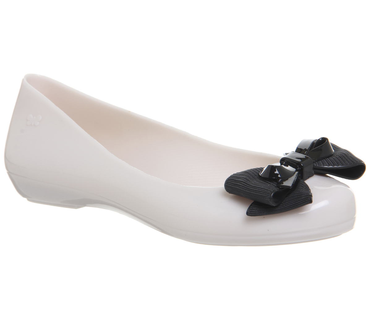Womens Zaxy Pop Ribbon Bow Pumps IVORY CONTRBST Flats