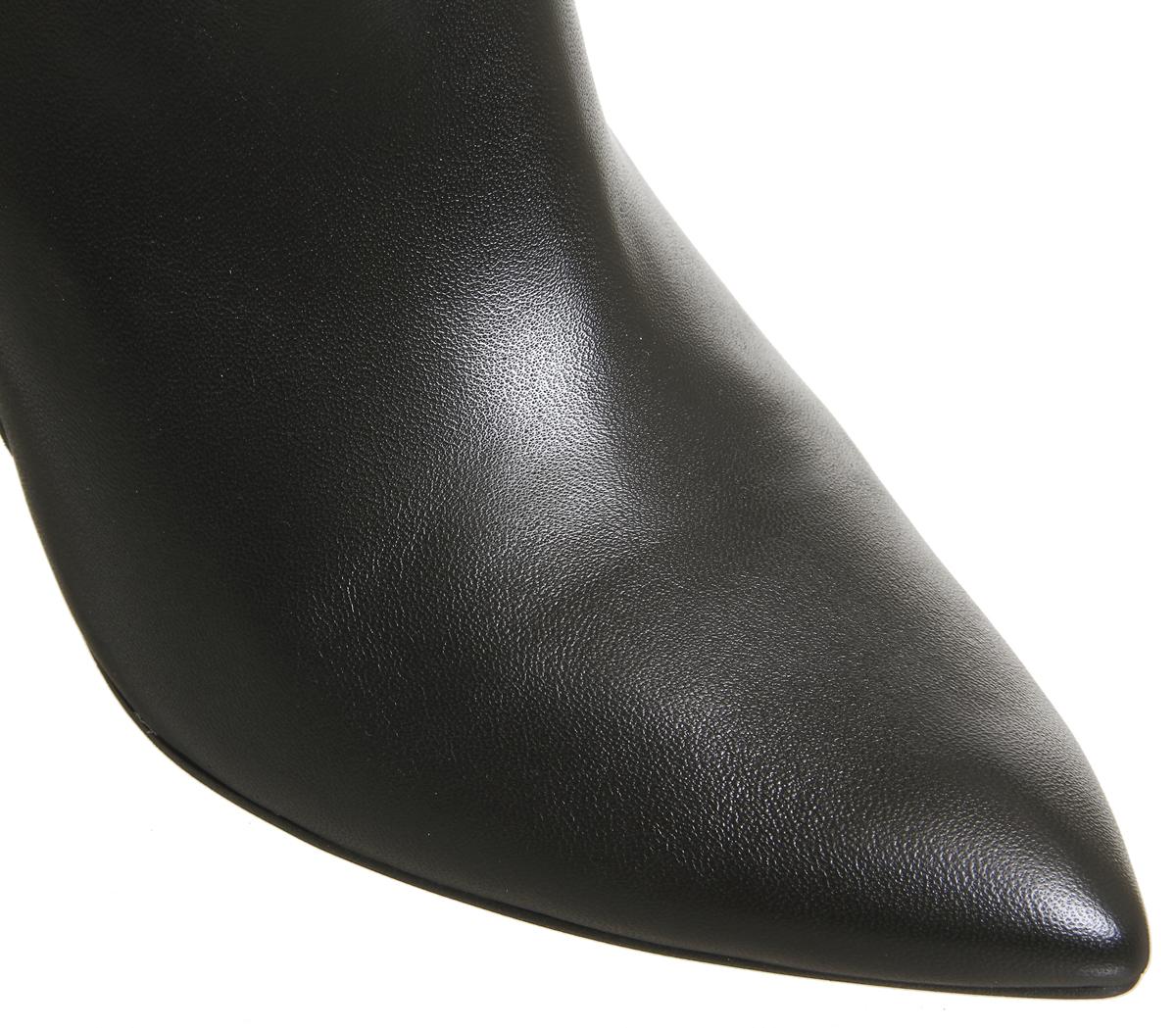 Damenschuhe Office LEATHER Keepsake Calf Stiefel BLACK LEATHER Office Stiefel 13a4cf