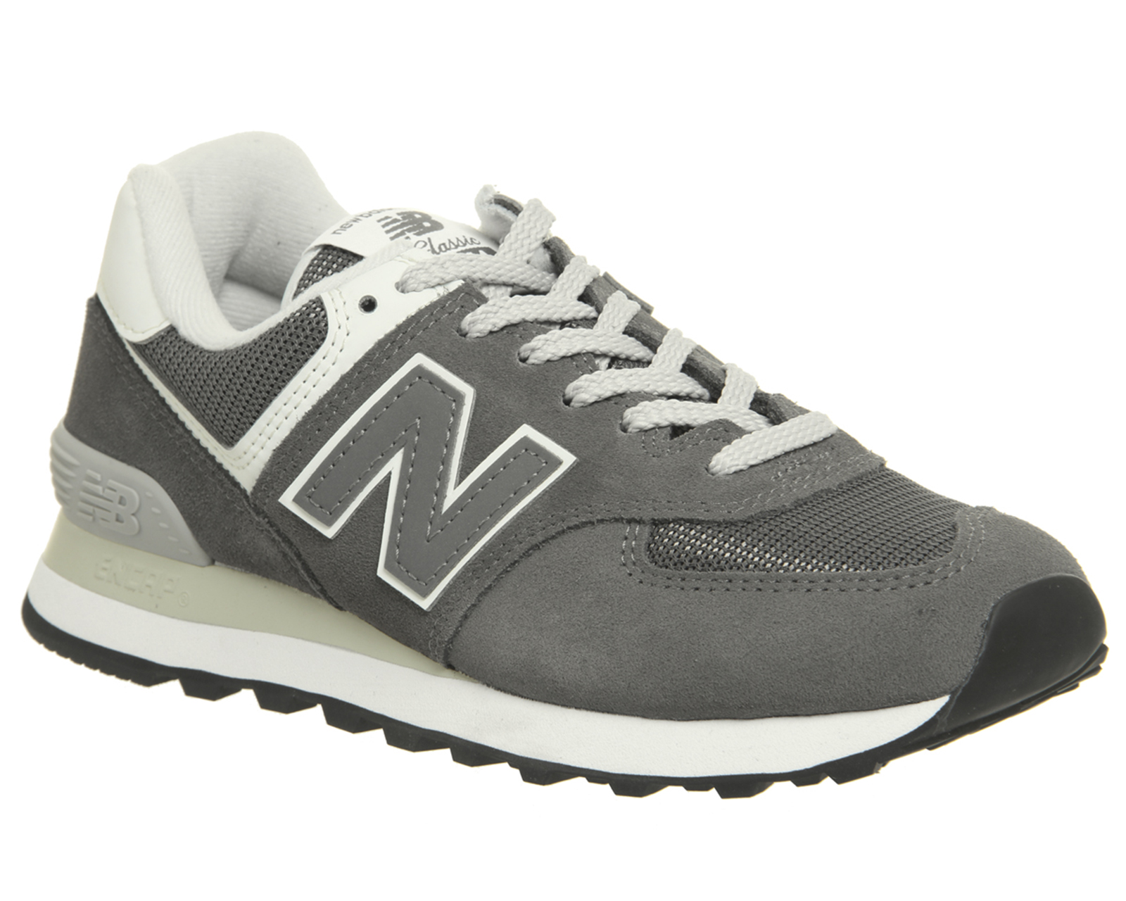 grand choix de a2f14 37eda Details about Womens New Balance 574 Trainers Castle Rock Trainers Shoes