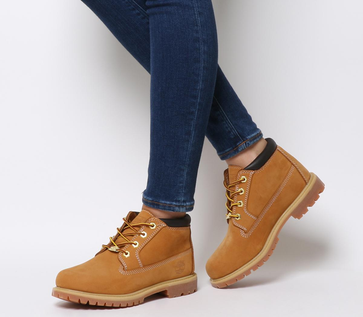 Womens Timberland Tan Leather Lace Up Ankle Boots Size UK 4 *Ex Display | eBay