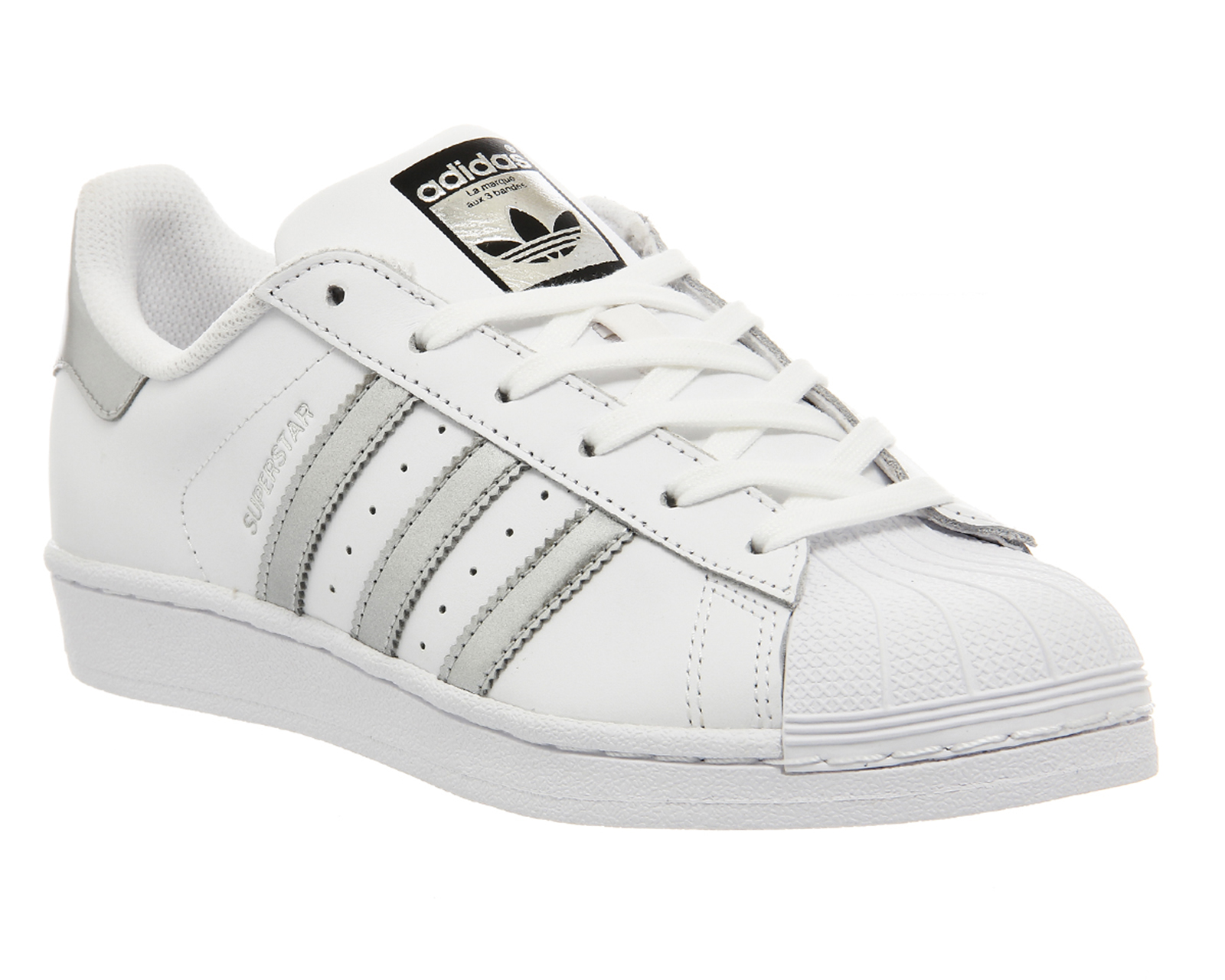 quality design 7d9a6 5120b Sentinel Womens Adidas White Leather Lace Up Trainers Size UK 6  Ex-Display