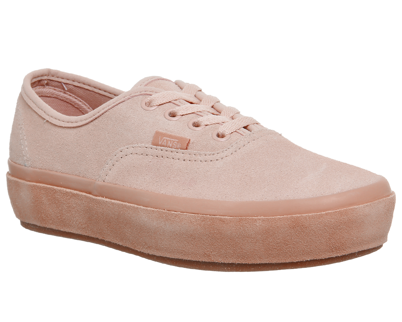 49bc310dc8094d Sentinel Womens Vans Pink Suede Lace Up Trainers Size UK 6  Ex-Display