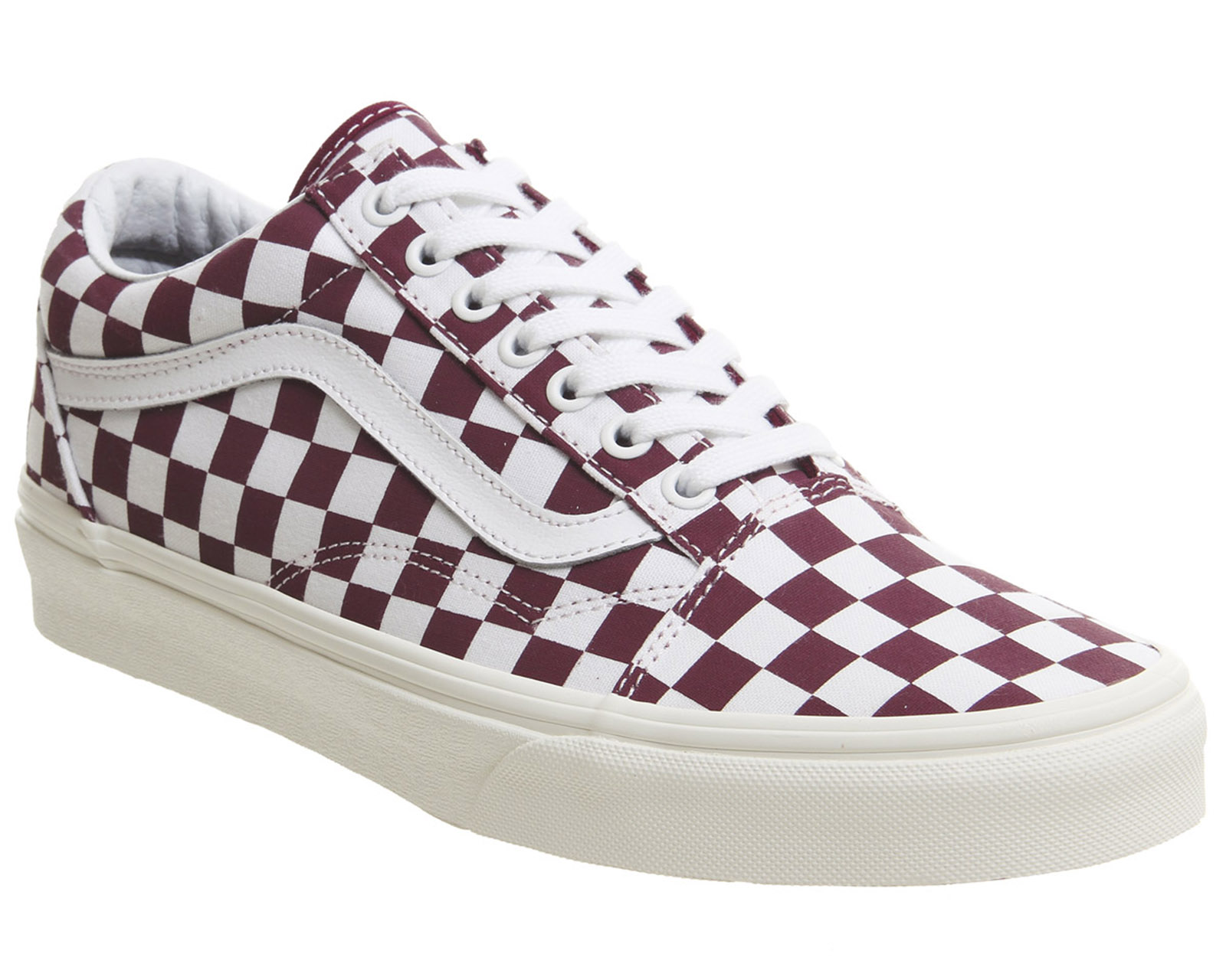 995af6d473a46a Sentinel Mens Vans Burgundy Canvas Lace Up Trainers Size UK 12  Ex-Display