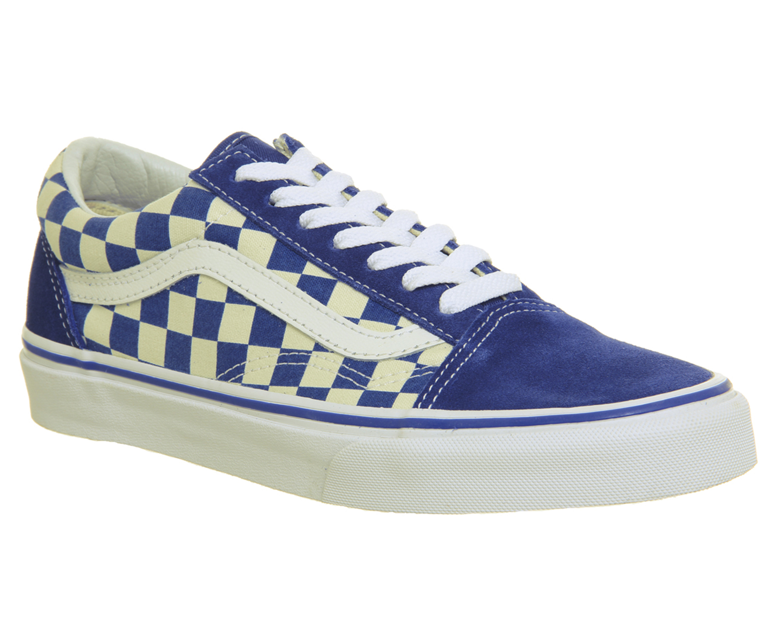 a449717d9960 Sentinel Mens Vans Blue Canvas Lace Up Trainers Size UK 8  Ex-Display