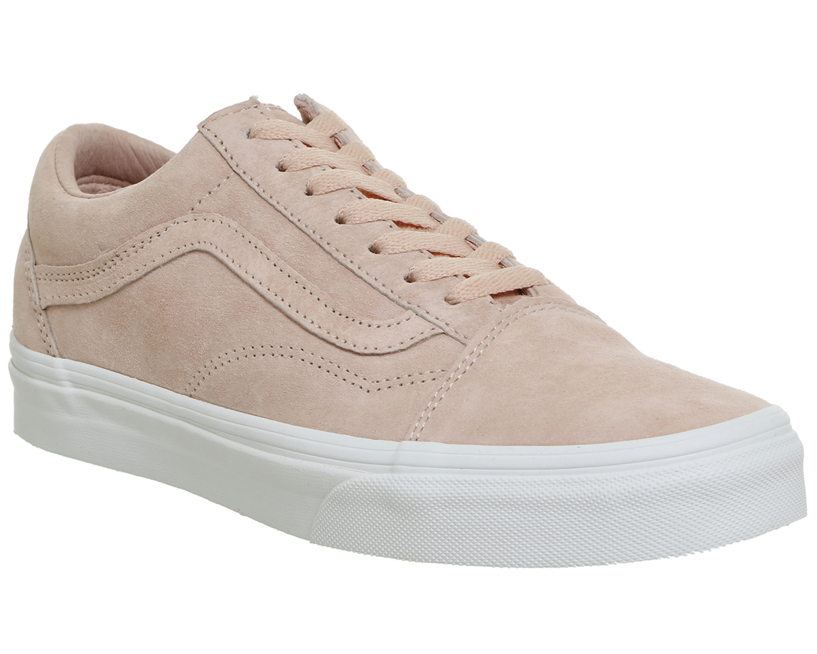 2dd3d728b2 Sentinel Womens Vans Pink Suede Lace Up Trainers Size UK 3  Ex-Display