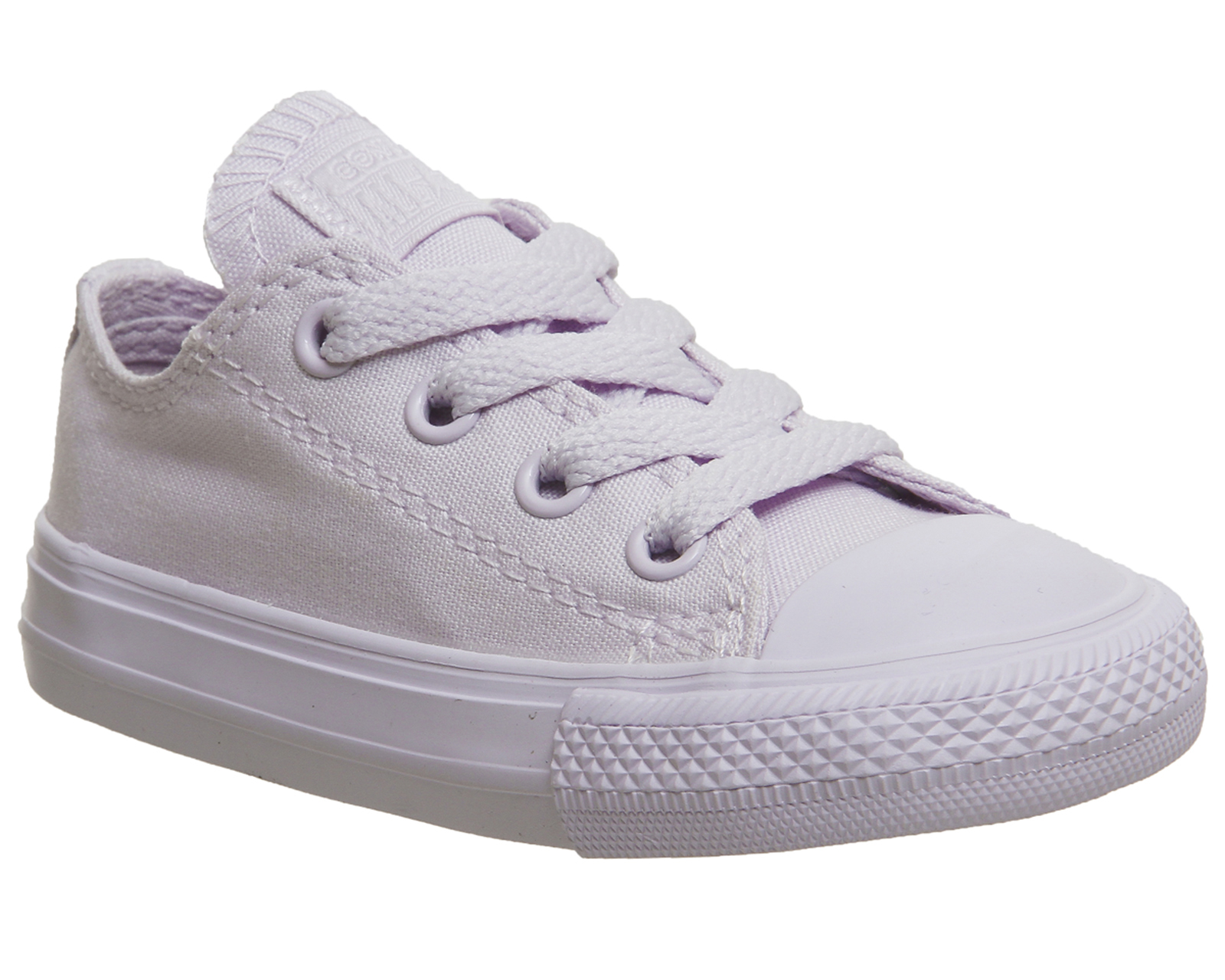 47b1616510ed65 Sentinel Kids Converse Purple Canvas Lace Up Trainers Size UK 4 Infant  Ex- Display