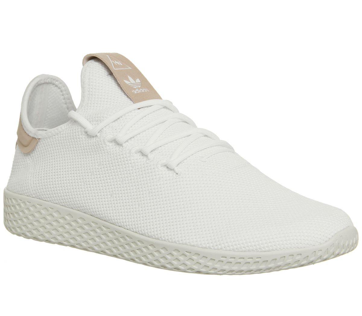 Sentinel Womens Adidas White Textile Lace up Trainers Size UK 10  Ex-Display ef1451f4f
