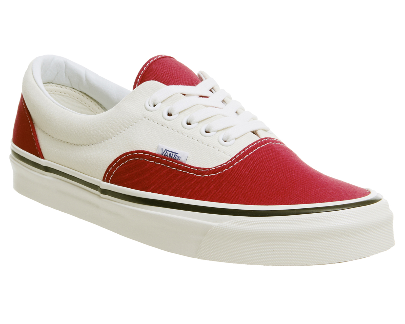 856390286b Sentinel Mens Vans Red Canvas Lace Up Trainers Size UK 9  Ex-Display