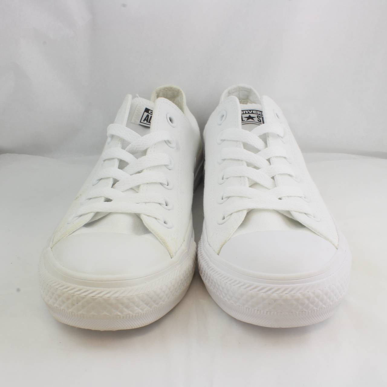 9f1c6fe89c79 Sentinel Womens Converse White Canvas Lace Up Trainers Size UK 6  Ex Display