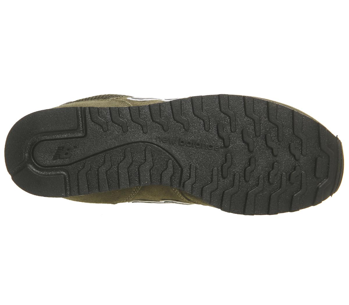 57f5d9d7f89 SENTINEL Mens nuovo equilibrio 373 oliva argento formatori scarpe