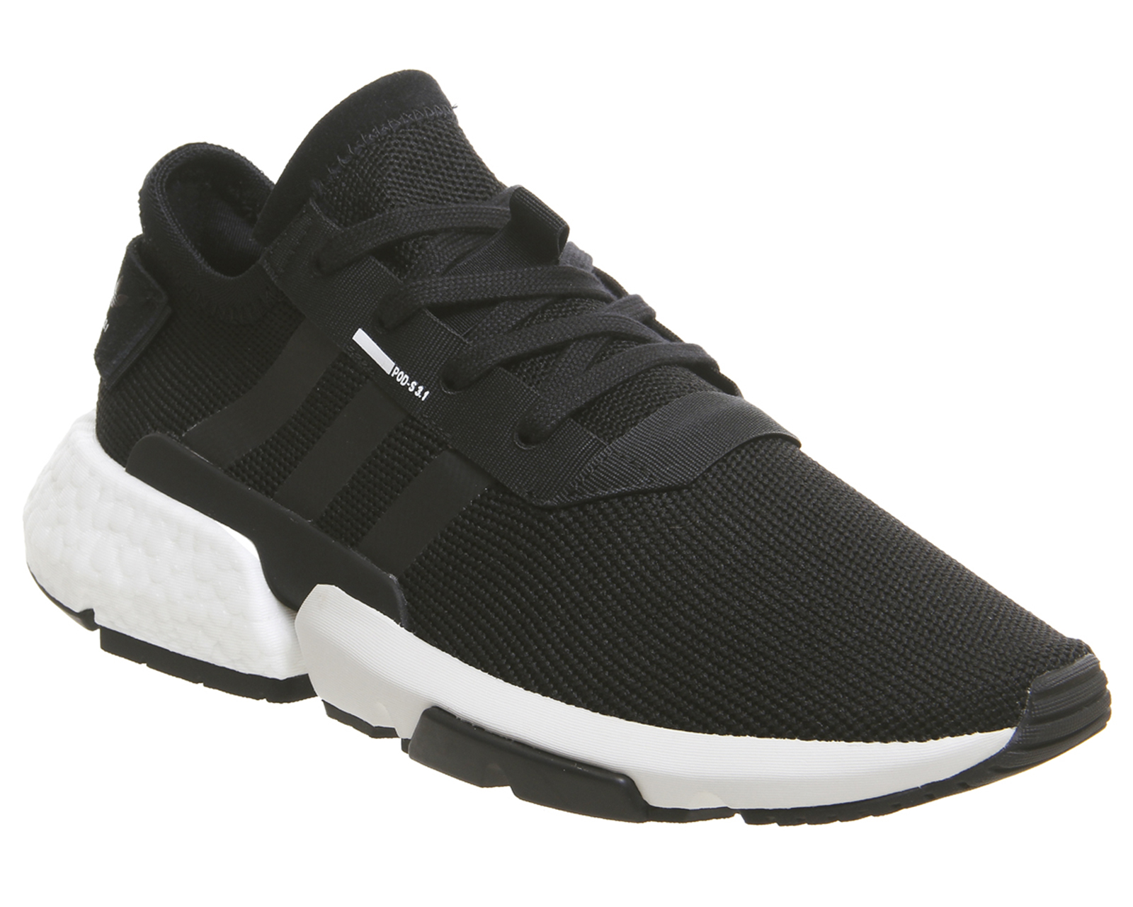 b520a7eccf21 Sentinel Adidas Pod S3.1 Trainers Black White Trainers Shoes