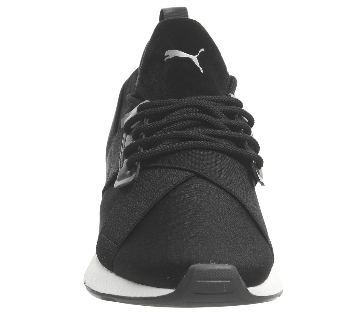 buy popular b71d0 a6f27 SENTINEL Donna Puma Puma Muse Xstrap scarpe da ginnastica bianche formatori scarpe  nere