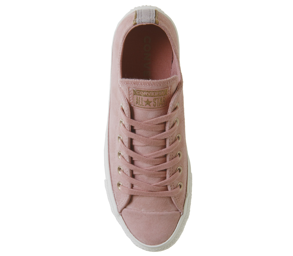 1dbe8862601 Womens Converse All Star Low Leather Trainers Rust Pink Mercury Grey ...