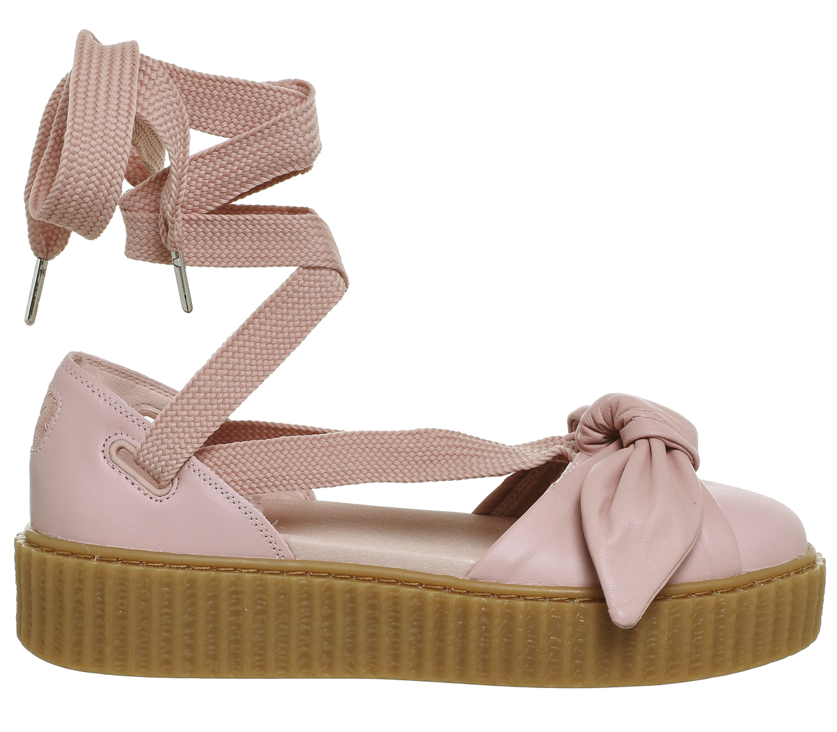 Womens-Puma-Creeper-Ballet-Lace-Pink-Fenty-Sandals thumbnail 6