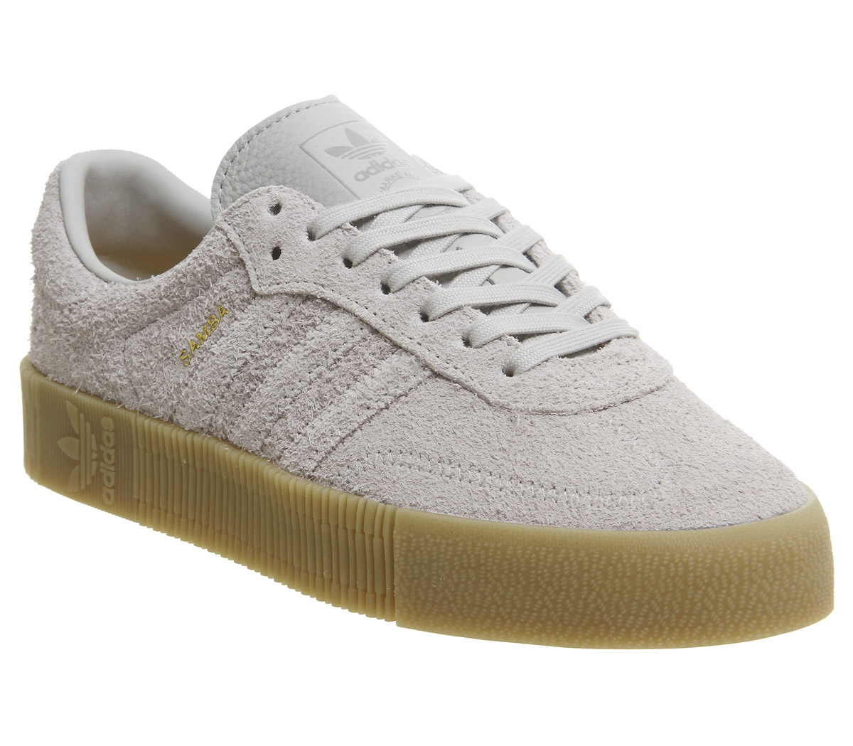 detailed look 56325 eb491 Sentinel Womens Adidas Samba Rose Trainers Grey Two Trainers Shoes