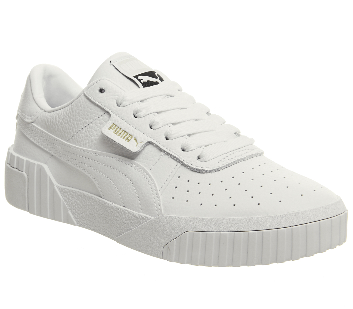 d95c527a1ef3 Sentinel Womens Puma Cali Trainers Puma White Puma White Trainers Shoes