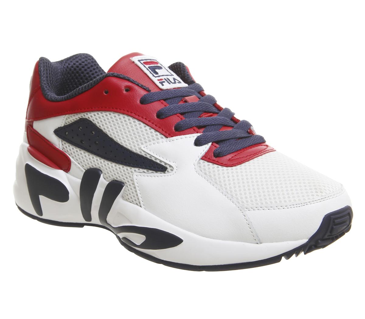 buy popular 59427 e82a7 CENTINELA Fila Mindblower instructores formadores marino rojo blanco zapatos