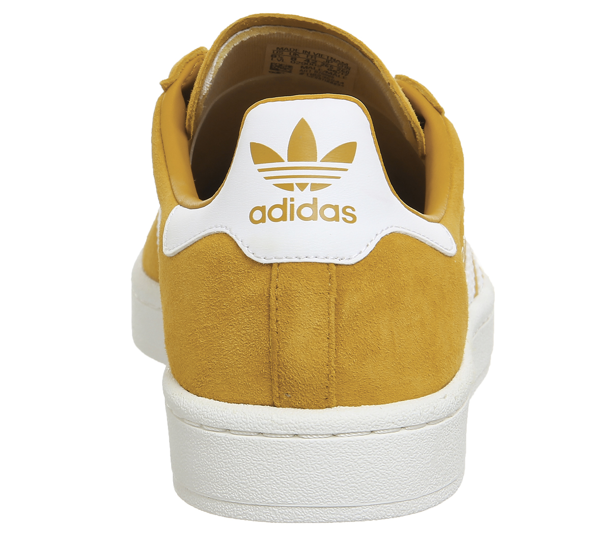 76fd17ae364 Adidas-Campus-Trainers-TACTILE-YELLOW-WHITE-Trainers-Shoes thumbnail