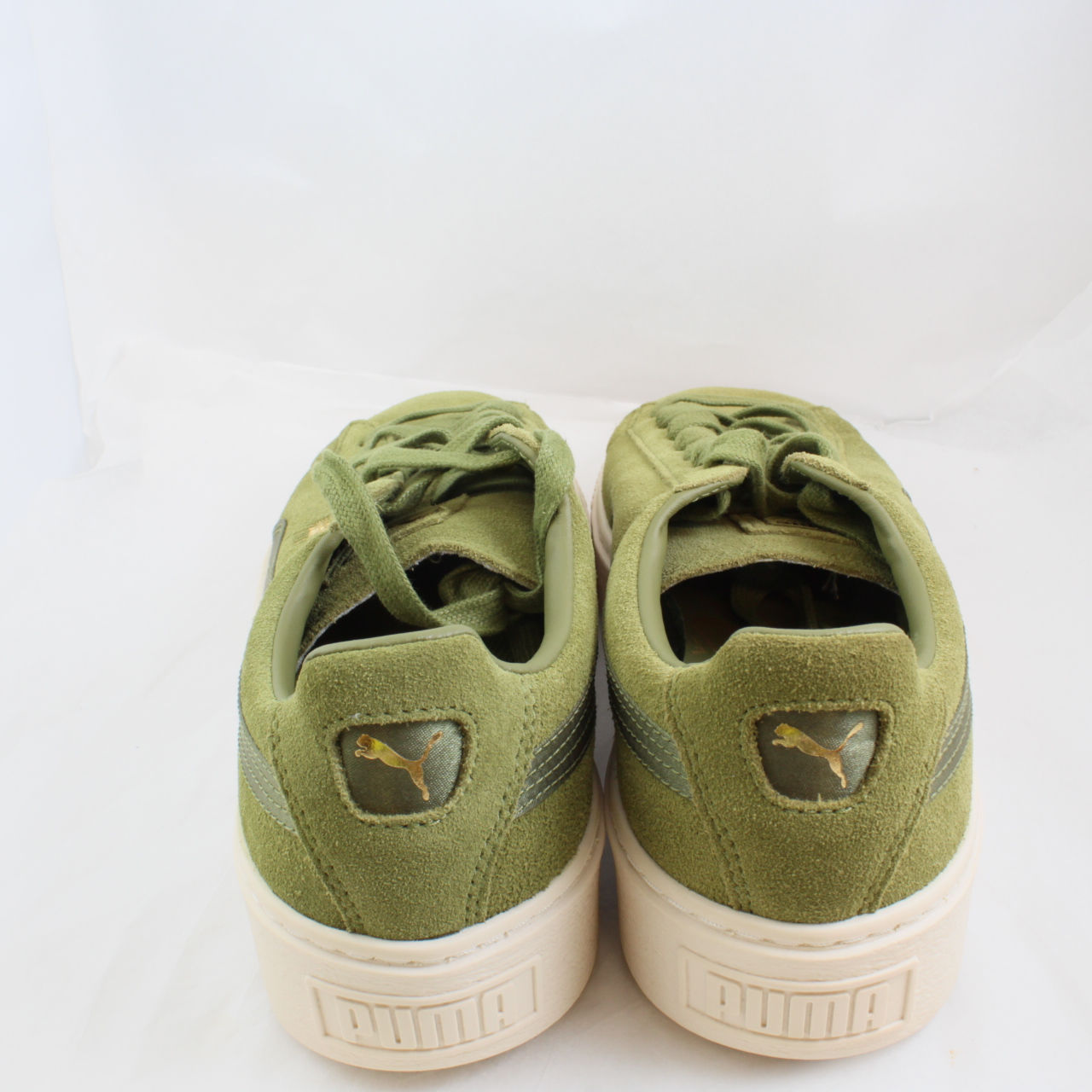Sentinel Womens Puma Green Suede Lace up Size UK 7  Ex Display c49c573ee
