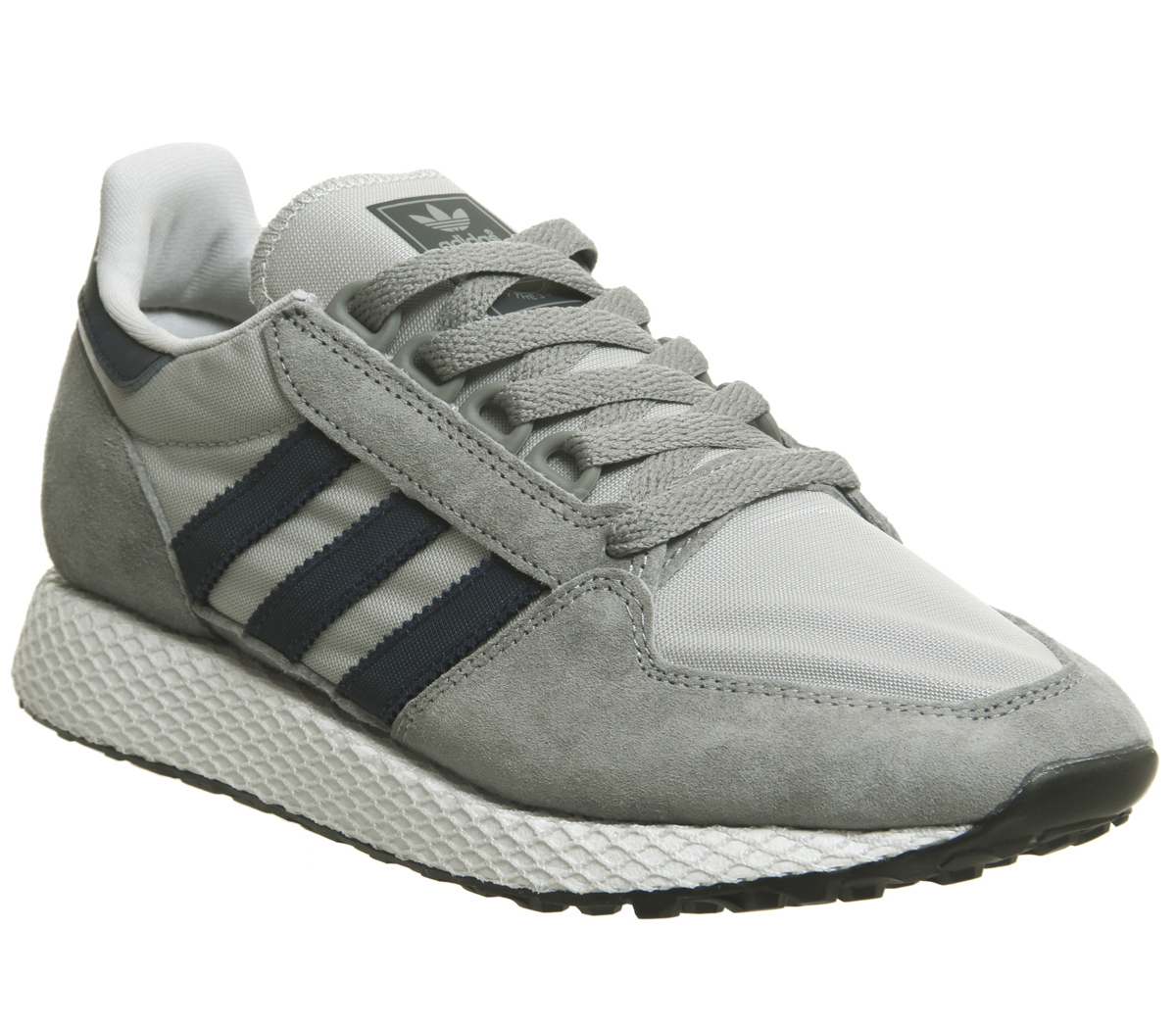 Sentinel Womens Adidas Forest Grove Trainers Grey Three Collegiate Navy  Grey Two Trainers f8dcdc9ae