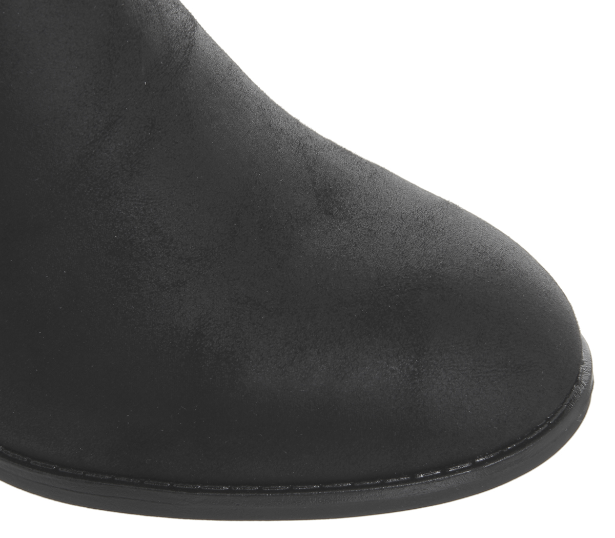 ebee229e1145b Womens Office Attract Ankle Strap Boots Black With Office Branded ...