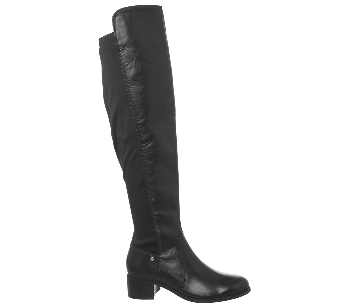 Womens in Over The nera Back Office pelle Kite Knee Stretch Boots rqCwrZxSU