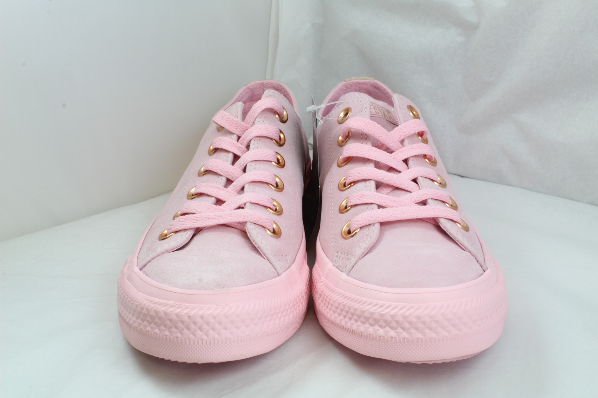 555b5429c04 Sentinel Womens Converse Pink Suede Lace Up Trainers Size UK 5  Ex-Display