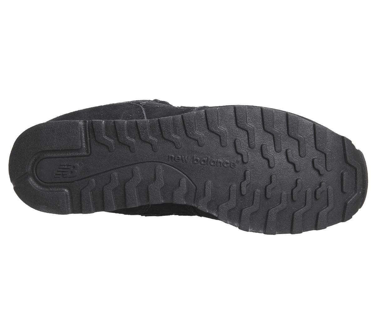 SENTINEL Womens nuovo equilibrio 373 allenatori pizzo nero scarpe da  ginnastica scarpe