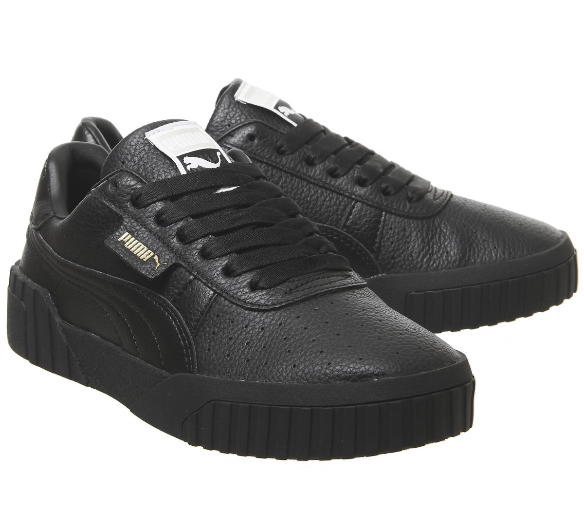994f410a3d05c5 CENTINELA Mujeres Puma Cali instructores Puma negro Puma F negro zapatillas  zapatos