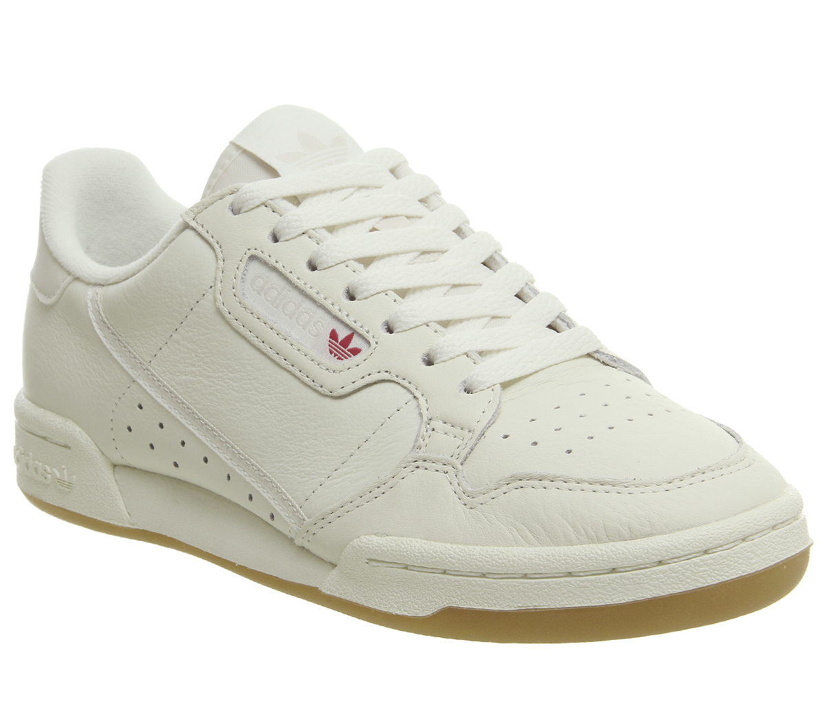 db647ac2e884 Sentinel Thumbnail 1. Sentinel Adidas 80S Continental Trainers Off White  Raw White Gum Shoes