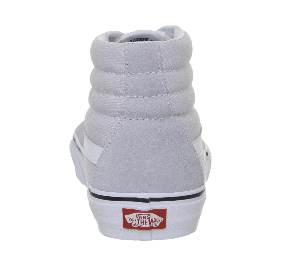 ffd298c812 Sentinel Womens Vans Sk8 Hi Trainers Gray Dawn True White Trainers Shoes