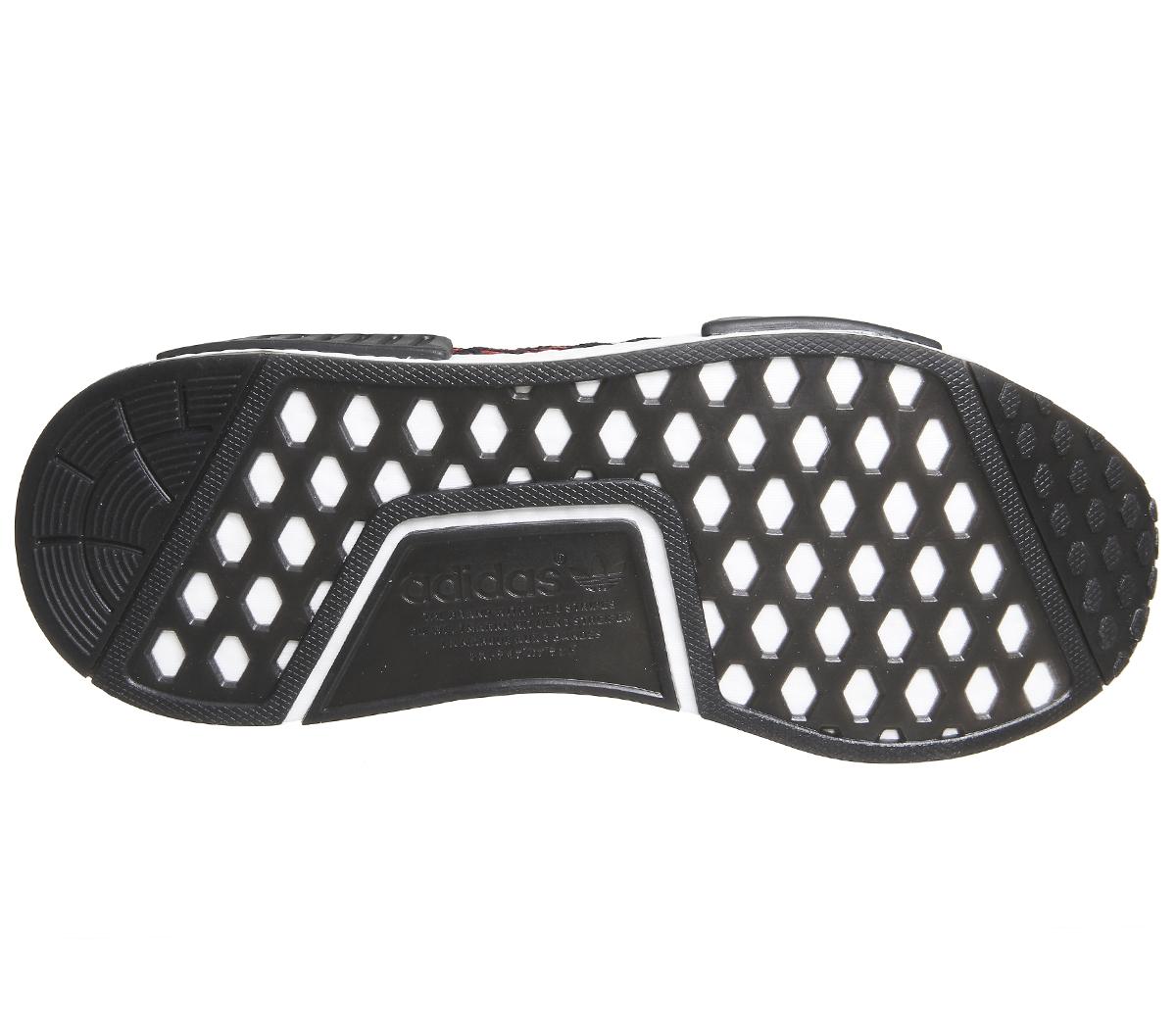 cheaper 0ef72 e3b79 CENTINELA Adidas Nmd R1 primer punto central negro rojo zapatillas zapatos.  CENTINELA Miniatura 7