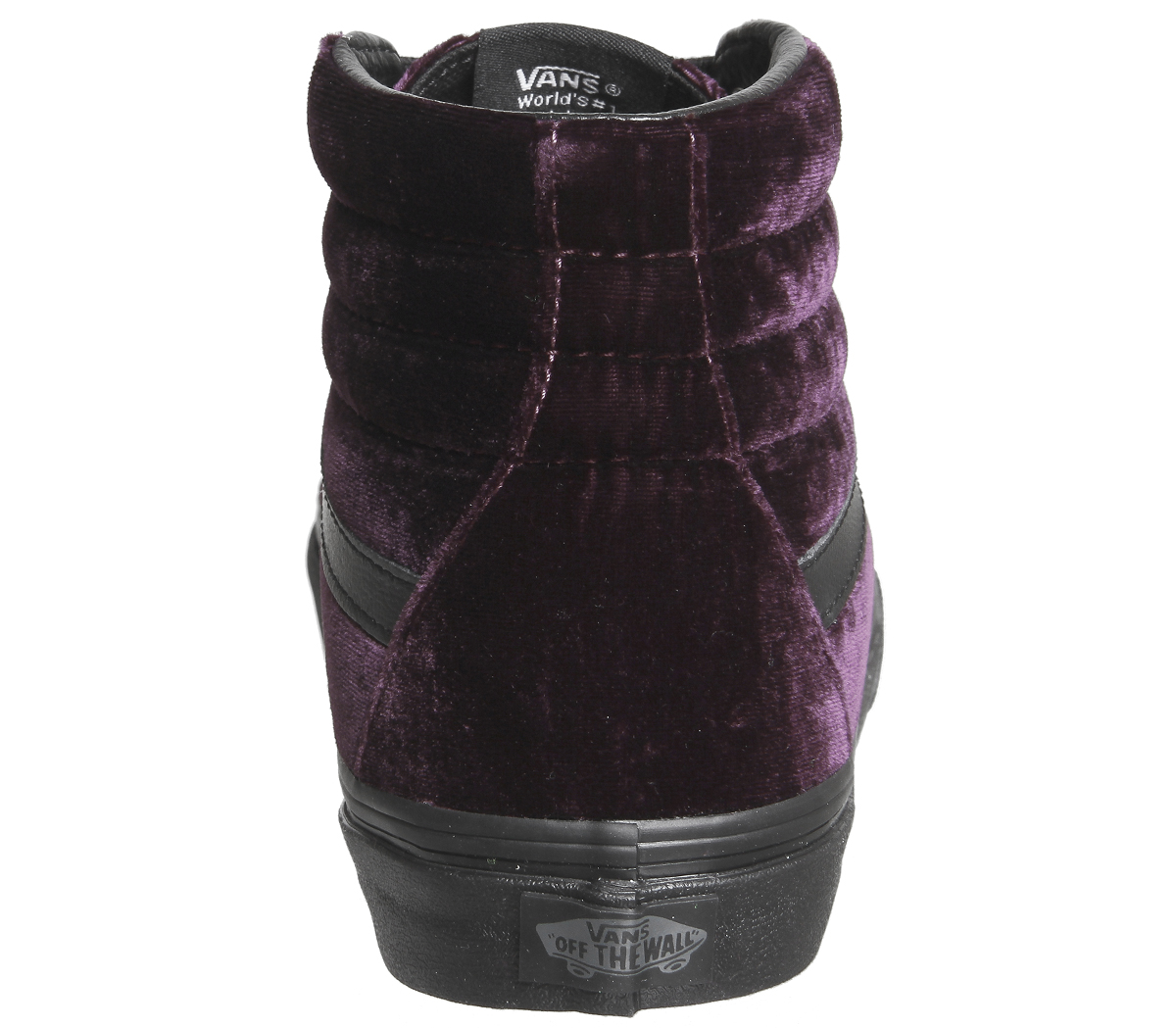 af48072429 Womens VANS Burgundy Textile Lace up Trainers UK Size 5  ex Display ...