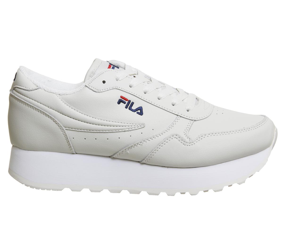 ab2b6c390689 Sentinel Womens Fila Orbit Zeppa Trainers TURTLEDOVE Trainers Shoes