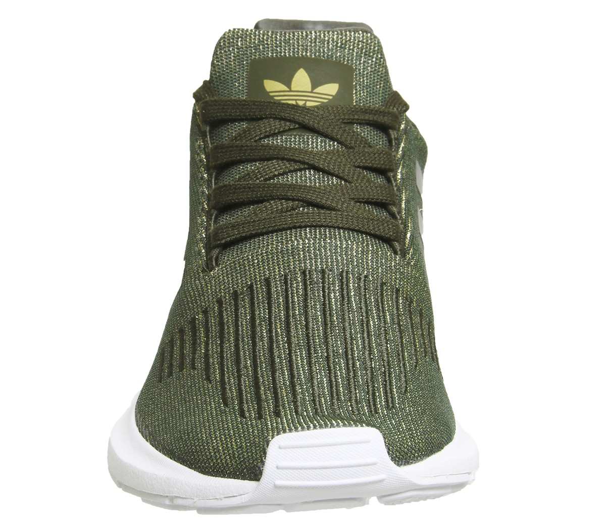 3609bcbe73649 Image is loading Womens-Adidas-Swift-Run-NIGHT-CARGO-GLITTER-Trainers-