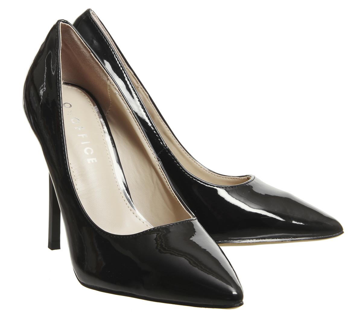 Court Heels Office Womens Hayden Shoes Patent Black 6TgEAqwR