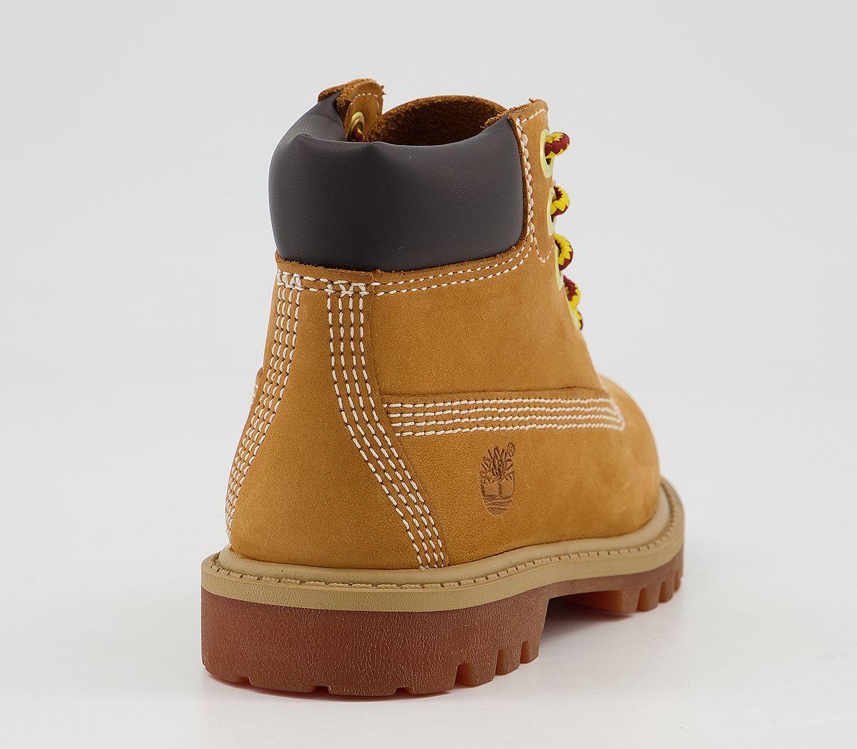 df6ced896c863e Sentinel Kids Timberland 6 Inch Classic Boots Infant Wheat Nubuck Kids