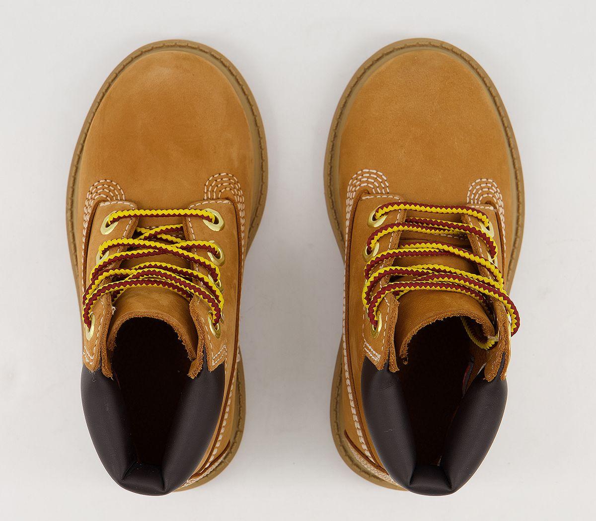 541eadb67401d2 Kids Timberland 6 Inch Classic Boots Infant Wheat Nubuck Kids   eBay
