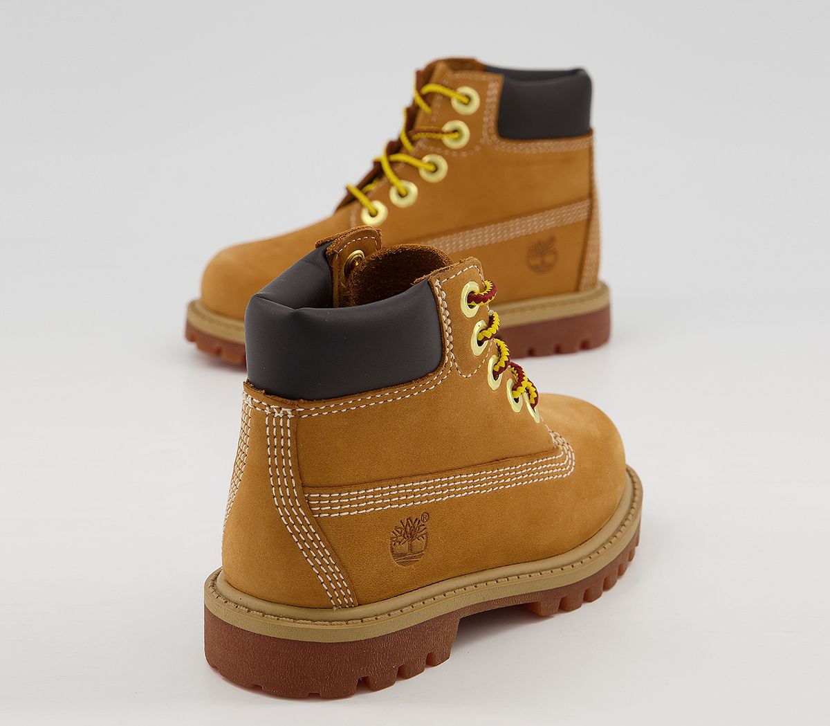 Details about Kids Timberland 6 Inch Classic Boots Infant Wheat Nubuck Kids