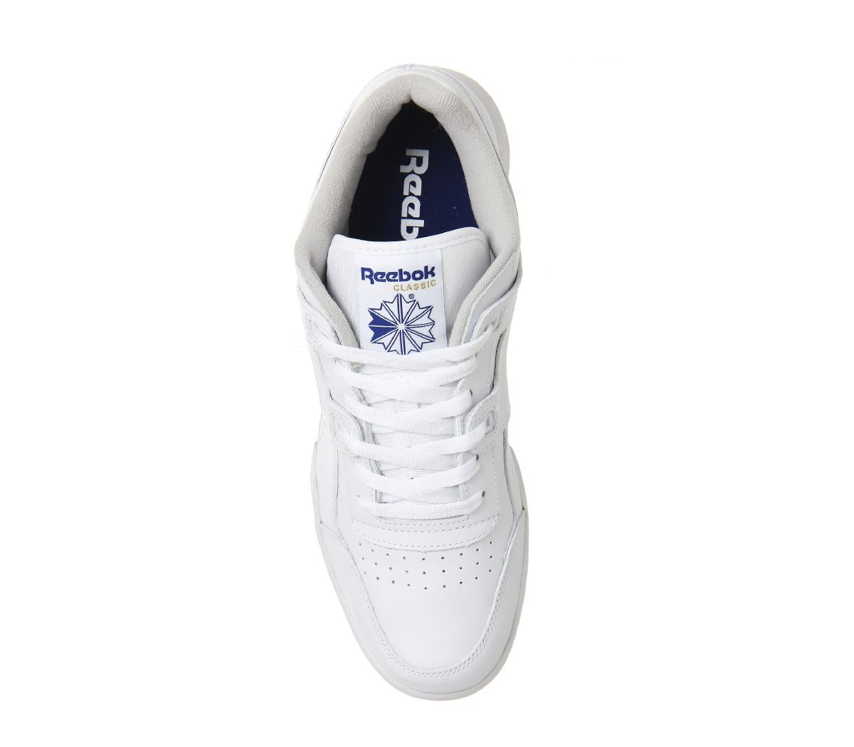 Reebok-Workout-Plus-Blanc-Royal-Baskets-Chaussures miniature 12