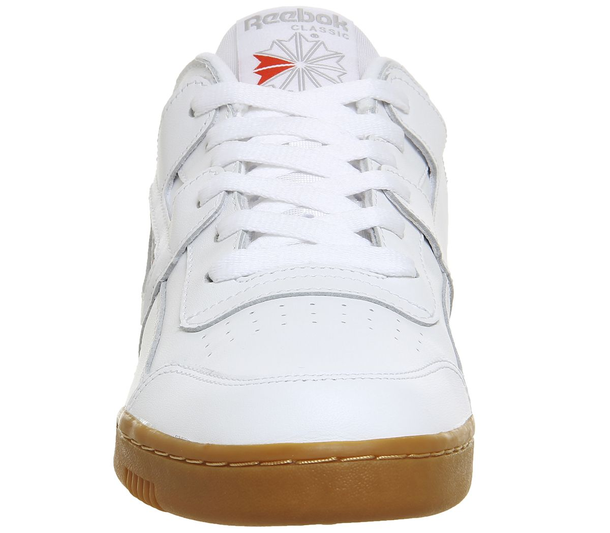 8a1b8820d8f9f Sentinel Reebok Workout Plus Trainers White Carbon Gum Trainers Shoes