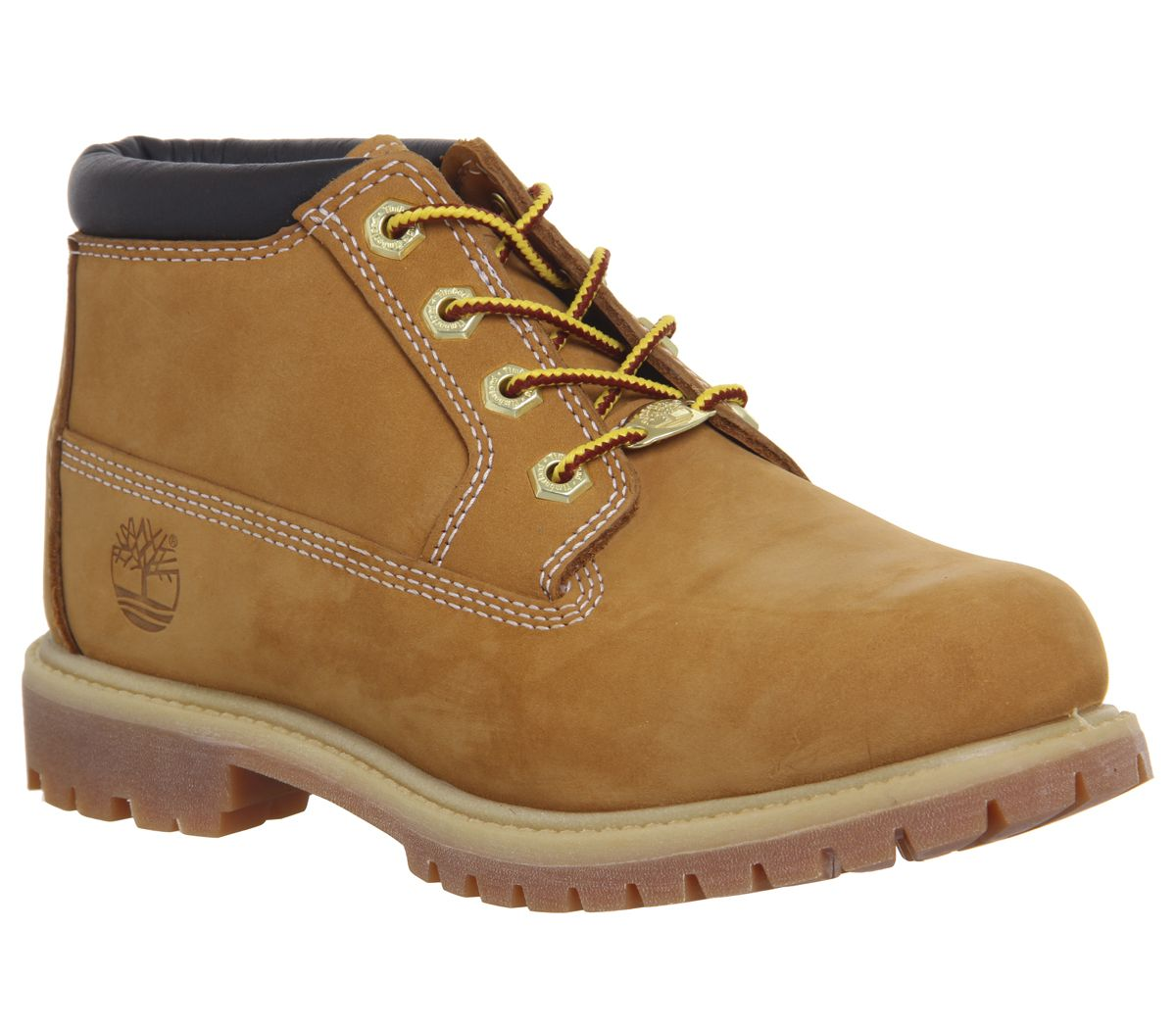 Details about Womens Timberland Nellie Chukka Double Waterproof Boots Wheat Nubuck Boots