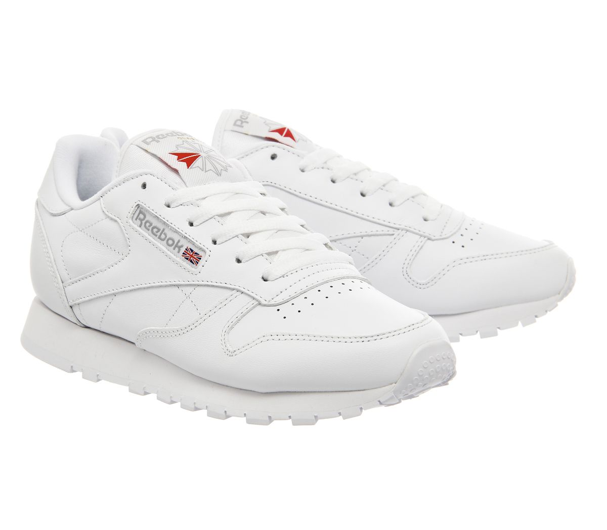 42eafdb51ec Womens-Reebok-Classic-Leather-Trainers-White-Leather thumbnail 19