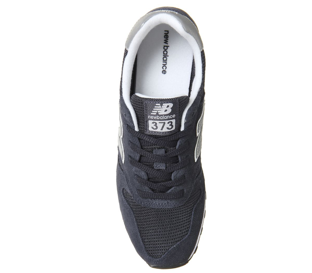sports shoes 6bffd 71b9e Details about Mens New Balance 373 Navy Silver Trainers Shoes