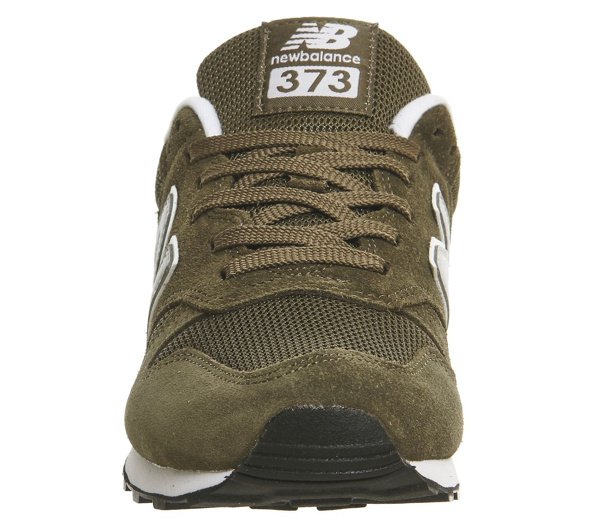 3bfffe0dc0b Sentinel Mens New Balance 373 Olive Silver Trainers Shoes