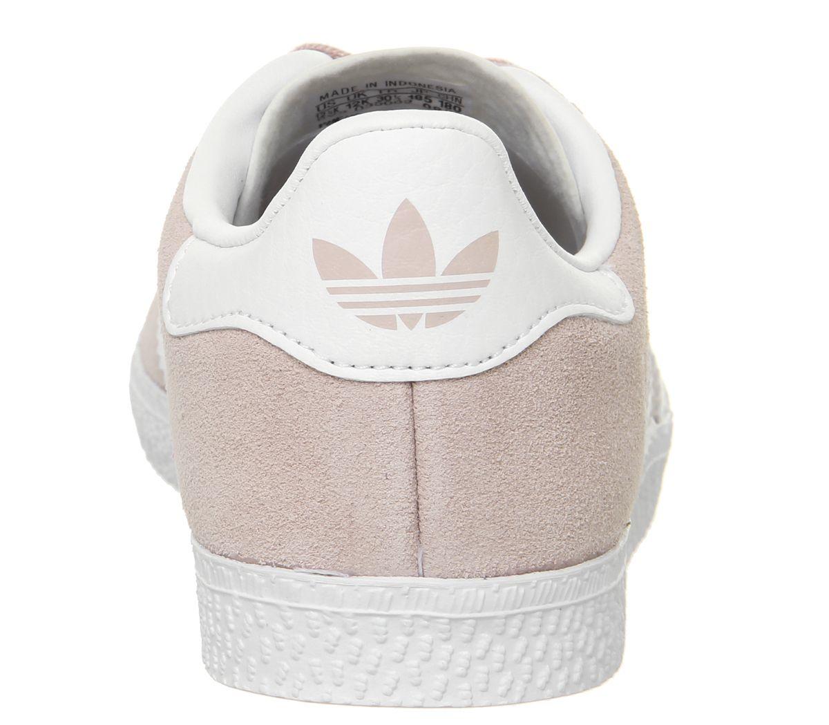 Details zu Kids Adidas Gazelle 2 Kids Trainers Icey Pink White V Kids