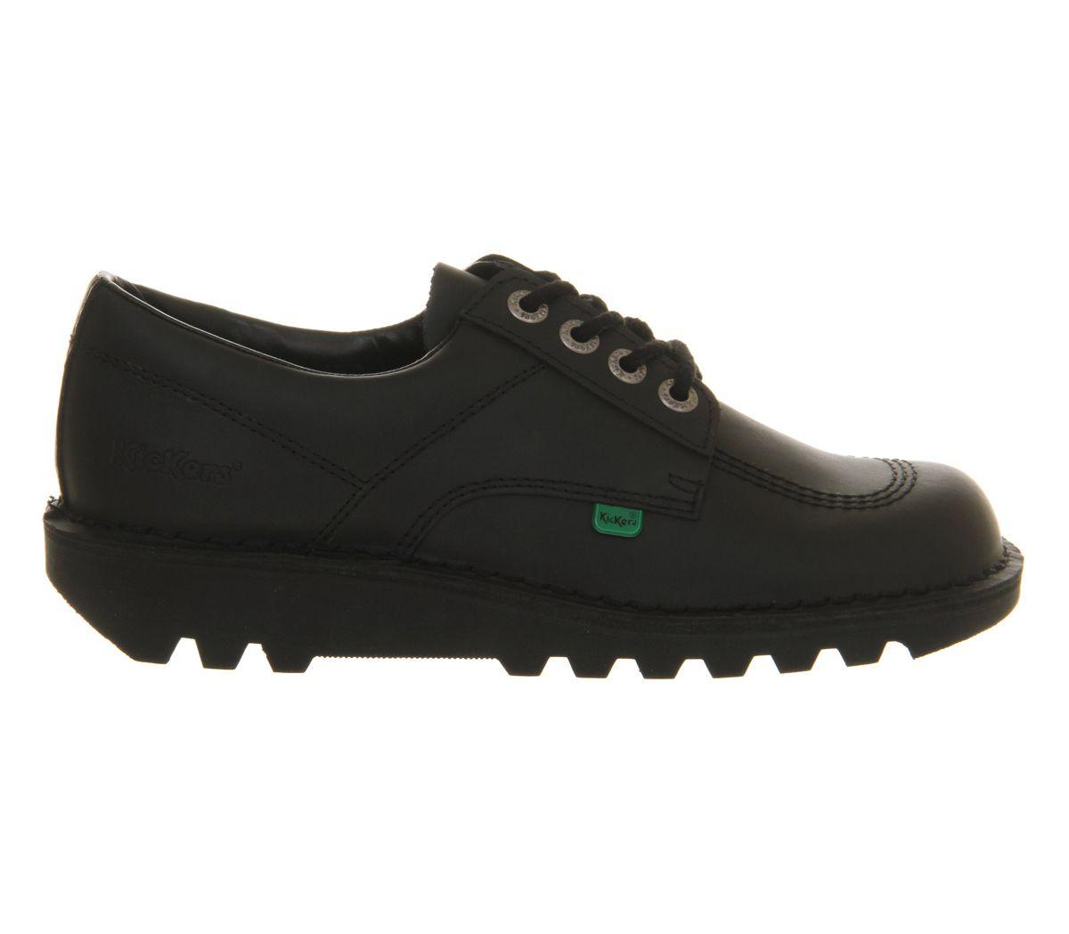 thumbnail 4 - Mens Kickers Kick Lo M Black Leather Formal Shoes