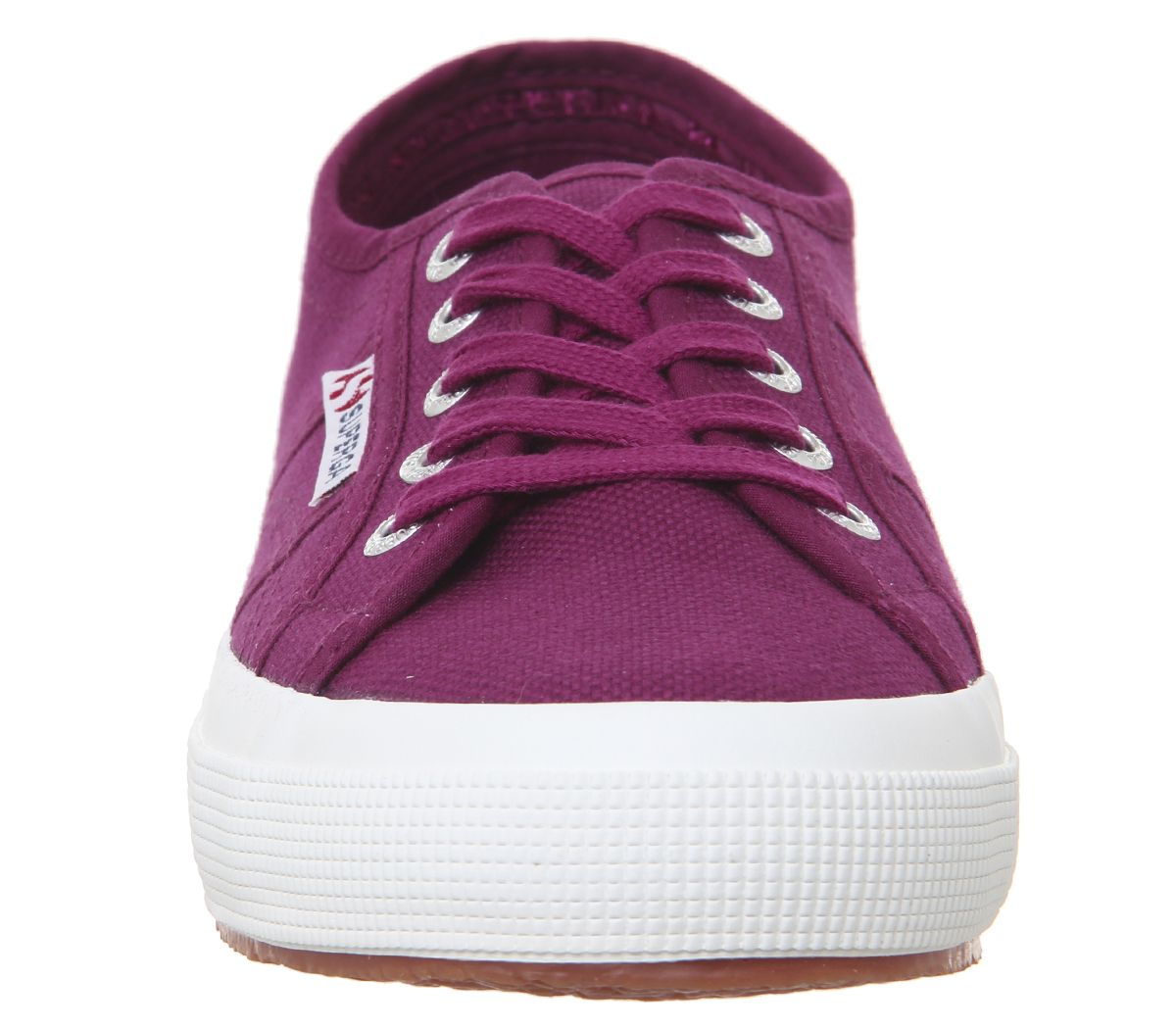 disfruta del precio de descuento clásico material seleccionado Detalles de Mujer Superga 2750 Zapatillas Rojo Magenta Violeta Zapatillas  Deportivas